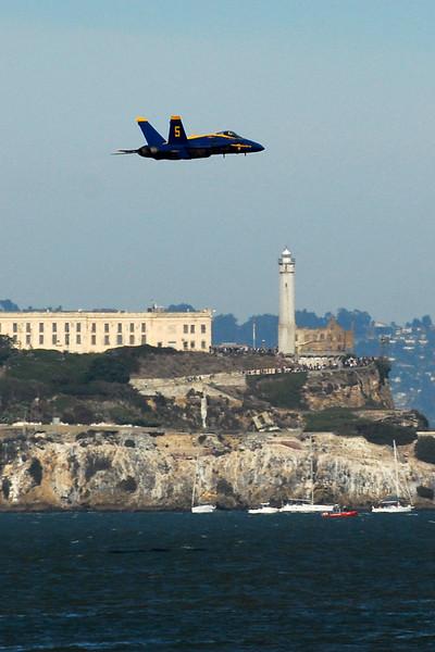 US Navy Blue Angels - Low-speed Sneak Pass