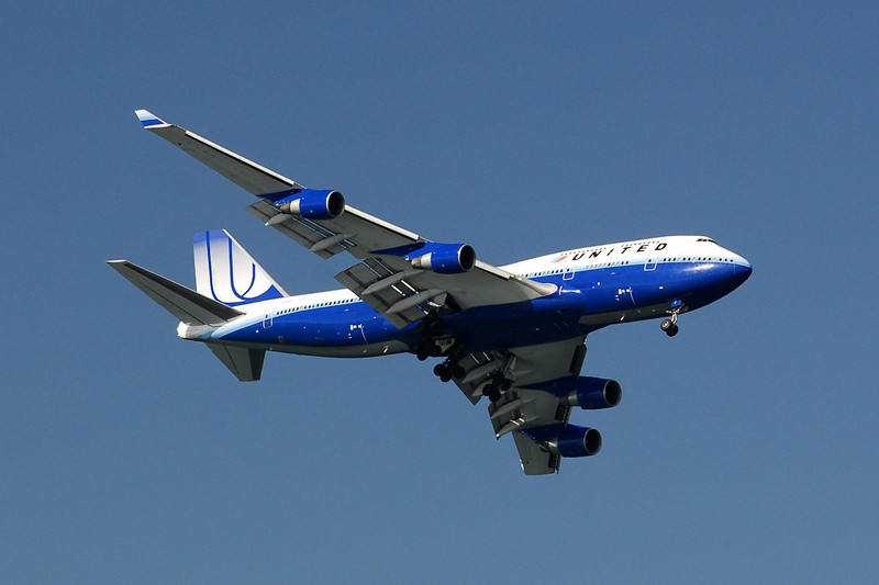 United Airlines - Boeing 747