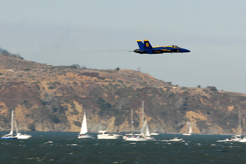 US Navy Blue Angels - Low-speed Sneak Pass