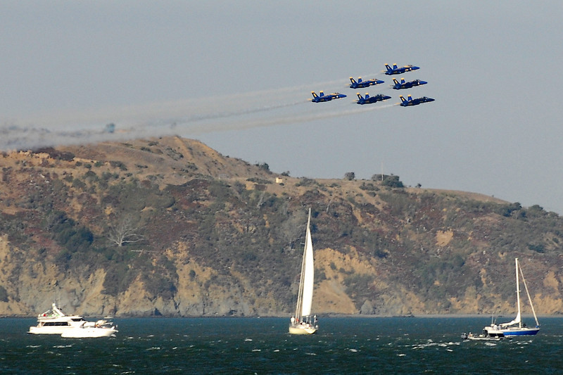 US Navy Blue Angels - Delta Formation