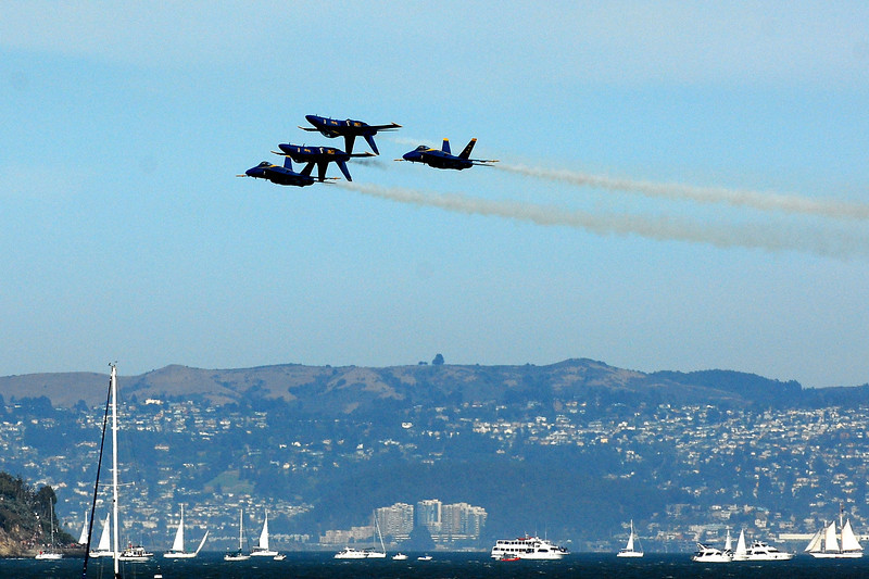 US Navy Blue Angels - Double Farvel