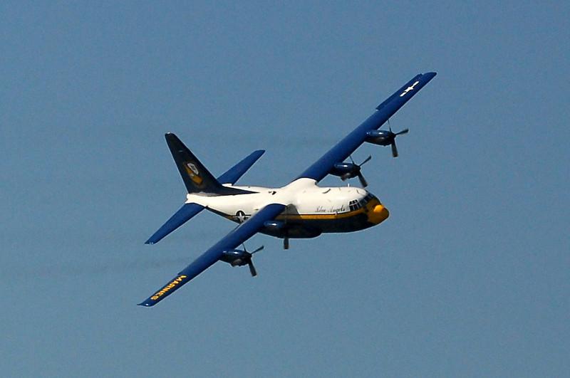"""US Navy Blue Angels - USMC C-130T Hercules a.k.a """"Fat Albert"""""""