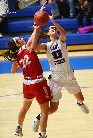 2-3-18<br /> Northwestern vs West Lafayette girls basketball sectional championship<br /> <br /> Kelly Lafferty Gerber | Kokomo Tribune