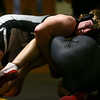 2-3-18<br /> Regional wrestling<br /> Western's Braydon Erb takes down Maconaquah's Collin Silvers in the 220.<br /> Kelly Lafferty Gerber | Kokomo Tribune
