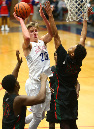 2-1-18<br /> Kokomo vs Arsenal Tech boys basketball<br /> <br /> Kelly Lafferty Gerber | Kokomo Tribune
