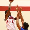 2-21-18<br /> IUK vs Ohio Christian boys basketball<br /> IUK's Antoin Clifton shoots.<br /> Kelly Lafferty Gerber | Kokomo Tribune