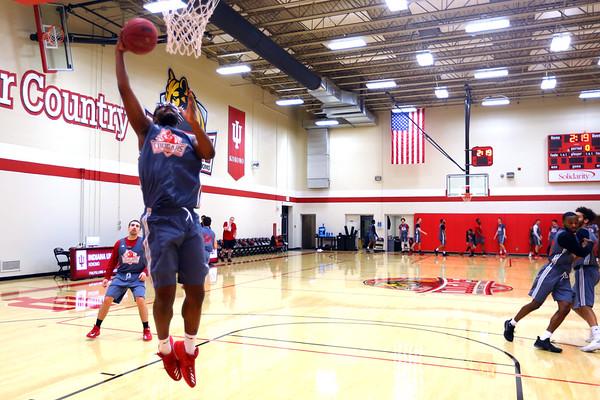 IUK Basketball Practice