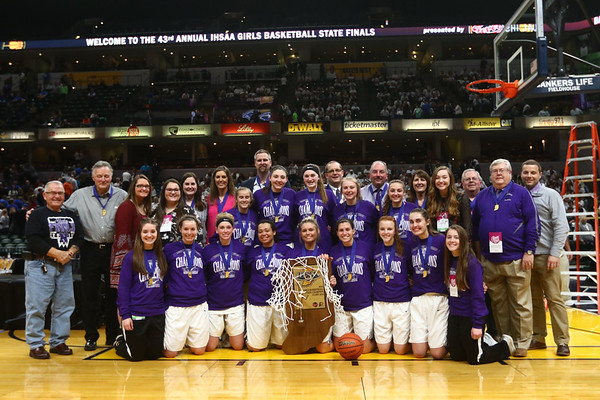 2-24-18<br /> Northwestern wins the 3A state championship against Greensburg 63-42. <br /> Kelly Lafferty Gerber | Kokomo Tribune
