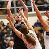 2-17-18<br /> Northwestern vs Fairfield semistate<br /> Kendall Bostic puts up a shot.<br /> Kelly Lafferty Gerber | Kokomo Tribune