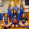 Bottom row from left: Tri Central's Nicole Sharpe, Sarah Quesada, Taylor Robison. Top row from left: Emily Richard, Jason Bales, and Ashley Schmidt.<br /> Kelly Lafferty Gerber | Kokomo Tribune
