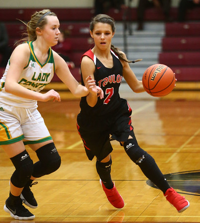 2-2-18<br /> Eastern vs Taylor girls sectional semifinal<br /> <br /> Kelly Lafferty Gerber | Kokomo Tribune