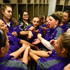 """2-24-18<br /> Northwestern wins the 3A state championship against Greensburg 63-42. The team groups up to make """"special sauce"""" in the locker room before the game.<br /> Kelly Lafferty Gerber 