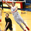 2-1-18<br /> Kokomo vs Arsenal Tech boys basketball<br /> Anthony Barnard grabs a rebound and puts it back up for a shot.<br /> Kelly Lafferty Gerber | Kokomo Tribune