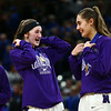 2-24-18<br /> Northwestern wins the 3A state championship against Greensburg 63-42. Stephanie Burns, left, and Madison Layden react after they receive gold medals.<br /> Kelly Lafferty Gerber | Kokomo Tribune