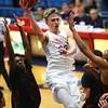2-1-18<br /> Kokomo vs Arsenal Tech boys basketball<br /> Anthony Barnard looks to make a pass.<br /> Kelly Lafferty Gerber | Kokomo Tribune