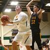 2-13-18<br /> Eastern vs Alexandria boys basketball<br /> Sam Querry looks to the basket for a shot.<br /> Kelly Lafferty Gerber   Kokomo Tribune