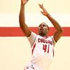 2-21-18<br /> IUK vs Ohio Christian boys basketball<br /> Durante Lee heads to the basket.<br /> Kelly Lafferty Gerber | Kokomo Tribune