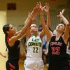 2-2-18<br /> Eastern vs Taylor girls sectional semifinal<br /> <br /> Kelly Lafferty Gerber | Kokomo Tribune