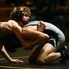 2-3-18<br /> Regional wrestling<br /> Eastern's Tallan Morrisett defeats Western's Chandler Ciscell in the 120.<br /> Kelly Lafferty Gerber | Kokomo Tribune