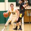 2-13-18<br /> Eastern vs Alexandria boys basketball<br /> Draeden Morris-Graber dribbles down the court.<br /> Kelly Lafferty Gerber   Kokomo Tribune