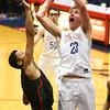 2-1-18<br /> Kokomo vs Arsenal Tech boys basketball<br /> Anthony Barnard puts up a shot.<br /> Kelly Lafferty Gerber | Kokomo Tribune