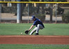 #5 Derrick Gunderson. Note the dropoff beyond the base path.