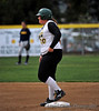 #30 Caitlin Aimalefoa reaches 2nd base.