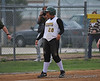 #28 Alyssa Taylor on 3rd base.