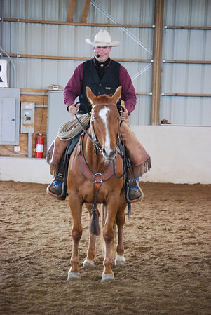 2010 - Duane Valerio's Horsemanship Clinic at Windsong Eq.