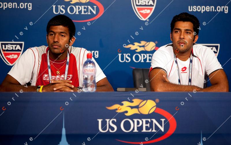 US Open 2010 - Interview - Bopanna-Quereshi