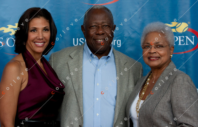 US Open 2010 - Breaking the Barriers<br /> Hank Aaron, Wendy Adams