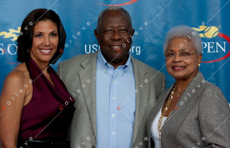 US Open 2010 - Breaking the Barriers<br /> Hank Aaron, Wendy Adams