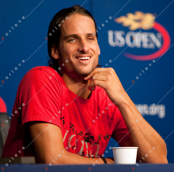 US Open 2010 - Interview - Feliciano Lopez