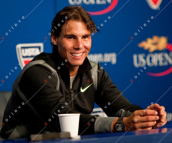 Raphael Nadal -Interview-US Open 2010