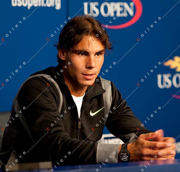 Interview, Raphael Nadal - US Open 2010