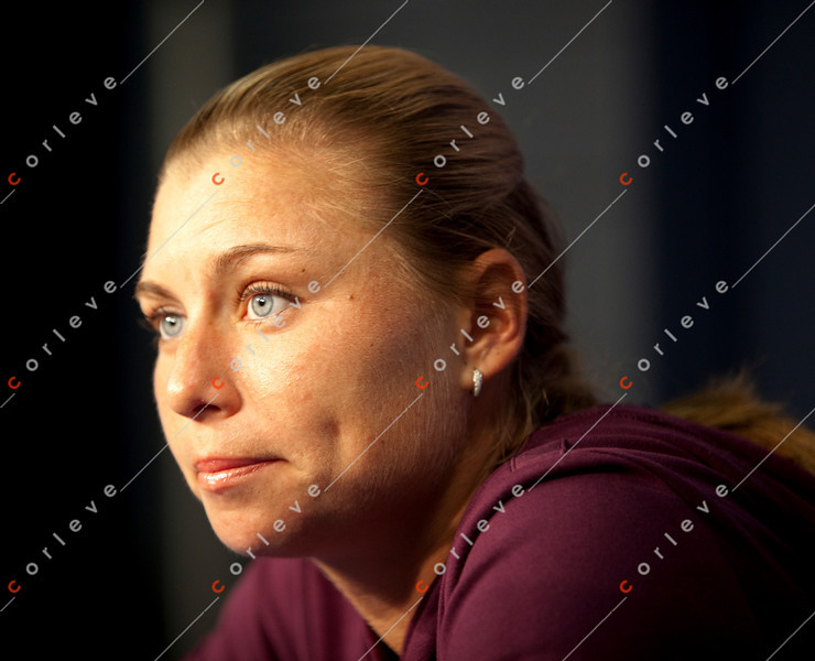 US Open 2010 - Interview - Vera Zvonareva