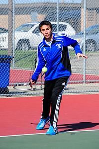 Boys Tennis - Spring 2012