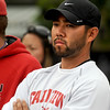 "Fairview boys tennis coach, Chad Tsuda at state.<br /> For more photos of state tennis, go to  <a href=""http://www.dailycamera.com"">http://www.dailycamera.com</a>.<br /> Cliff Grassmick / October 15, 2011"