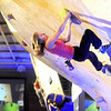 "Boulder climber Angela Payne shows her bouldering skills on Saturday, Feb. 12, at the 2011 ABS 12 National Championships at 3550 Frontier Ave. in Boulder. For more photos and a video of the event go to  <a href=""http://www.dailycamera.com"">http://www.dailycamera.com</a><br /> Jeremy Papasso/ Camera"