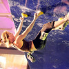 "Boulder climber Chelsea Rude shows her climbing skills on Saturday, Feb. 12, at the 2011 ABS 12 National Championships at 3550 Frontier Ave. in Boulder. For more photos and a video of the event go to  <a href=""http://www.dailycamera.com"">http://www.dailycamera.com</a><br /> Jeremy Papasso/ Camera"