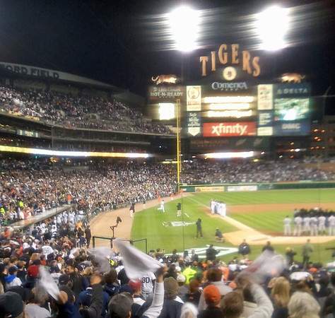 2011 ALDS: Yankees at Tigers, Game 3