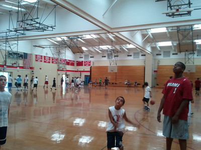 2011-Basketball Camp - Spellman HS