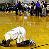 "Monarch High School junior Alexis Johnson, left, shows her emotion after losing to Fort Collins 44-55 on Friday, March 4, during the Colorado High School ""Great 8"" tournament at the Denver Coliseum. For more photos go to  <a href=""http://www.dailycamera.com"">http://www.dailycamera.com</a><br /> Jeremy Papasso/ Camera"