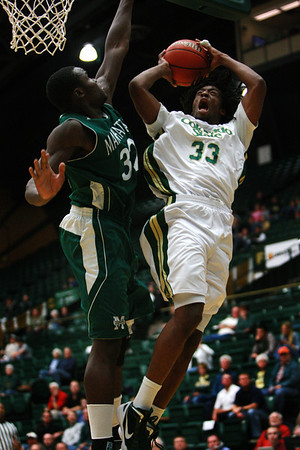 CSU vs. Manhattan Men's BB 2011