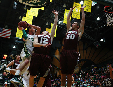 CSU vs. Montana Men's BB 2011