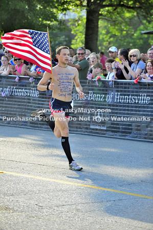 2011 Memorial Day  Cotton Row Run Huntsville AL 5k foot race