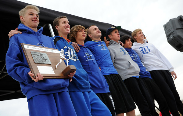 """The Broomfield boys finished second in state 4A.<br /> For more photos of state, go to  <a href=""""http://www.dailycamera.com"""">http://www.dailycamera.com</a>.<br /> Cliff Grassmick / October 29, 2011"""