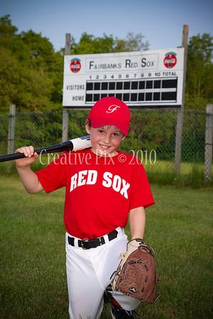 2011 Fairbanks Redsox - Rookies & Tball