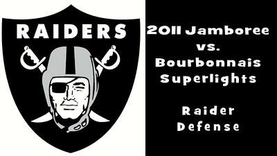2011 Raider Jamboree SLW Bourbonnais Offense
