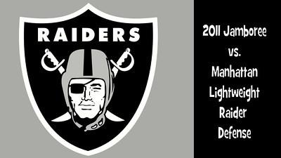 2011 Raider Jamboree LW Manhattan Offense